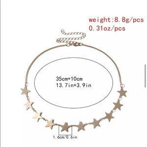 unbranded Jewelry - Boho Golden Stars Choker/Necklace